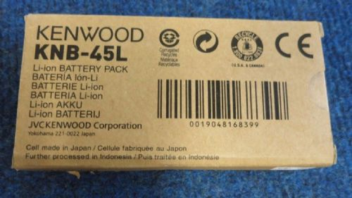 Kenwood KNB-45L New Li-ion 7.2V 2000mAh Battery For ProTalk Two Way Radio